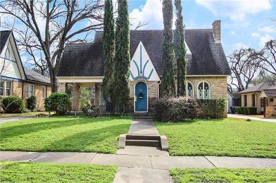 Dallas County Single Family Home For Sale: 5606 Morningside Avenue