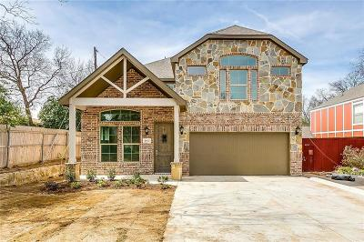Fort Worth Single Family Home For Sale: 2932 Bigham Boulevard