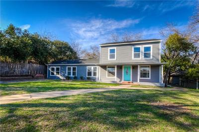 Weatherford Single Family Home For Sale: 308 W Columbia Street
