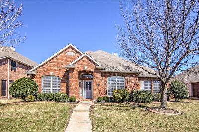 Carrollton Single Family Home Active Contingent: 2505 Timberleaf Drive