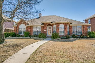 Allen Single Family Home Active Option Contract: 1327 Lochness Drive
