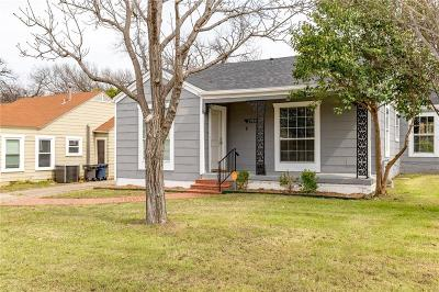 Fort Worth Single Family Home For Sale: 2933 Ryan Avenue