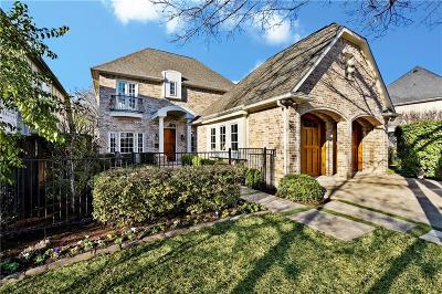 Dallas County Single Family Home For Sale: 5023 Stanford Avenue