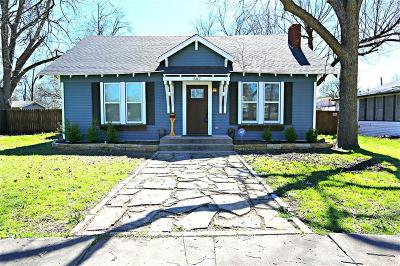 Waxahachie Single Family Home Active Option Contract: 507 Royal Street