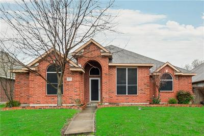 Mesquite Single Family Home For Sale: 1807 Hillwood Drive