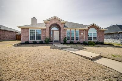 Wylie Single Family Home Active Option Contract: 713 Nickelville Lane