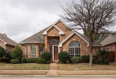 Irving Single Family Home Active Option Contract: 8509 Mustang Drive