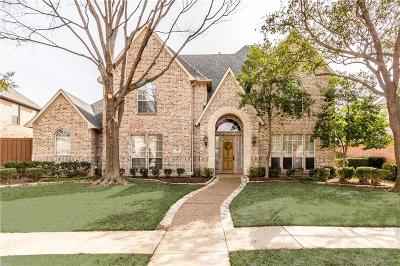 Coppell Single Family Home Active Option Contract: 308 Martel Court