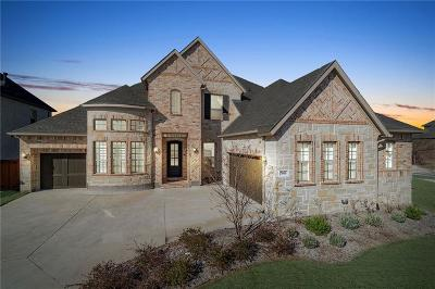 McKinney Single Family Home Active Contingent: 7400 Joshua Tree Trail