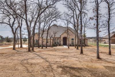 Weatherford Single Family Home Active Option Contract: 130 Post Oak Way