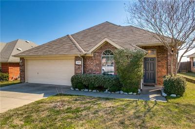 Euless Single Family Home Active Option Contract: 407 Lois Lane