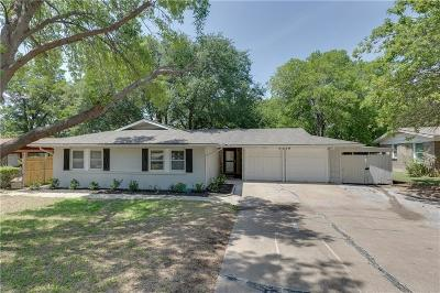 Dallas County, Denton County, Collin County, Cooke County, Grayson County, Jack County, Johnson County, Palo Pinto County, Parker County, Tarrant County, Wise County Single Family Home For Sale: 5516 Winifred Drive