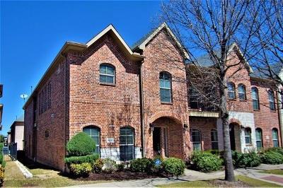 Frisco Townhouse For Sale: 6800 Regello Drive