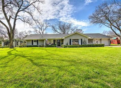 Tarrant County Single Family Home For Sale: 7 Cliffside Drive