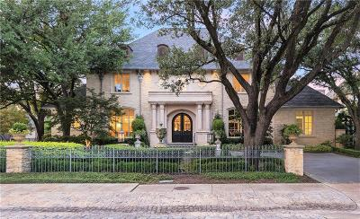 Dallas Single Family Home For Sale: 6507 Lakehurst