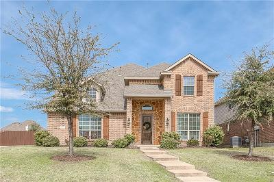 Sachse Single Family Home Active Contingent: 5711 Chateau Drive