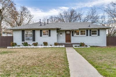 Dallas Single Family Home For Sale: 3804 Hawick Lane