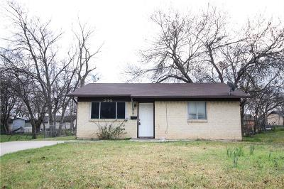 Mesquite Single Family Home Active Option Contract: 844 Daffodil Drive