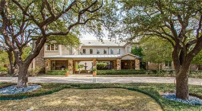 Dallas Single Family Home For Sale: 5941 Club Oaks Drive