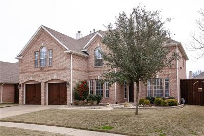 Flower Mound Single Family Home Active Kick Out: 3809 Vicksberry Trail