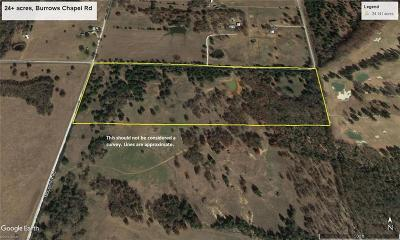 Grayson County Farm & Ranch For Sale: 26ac Burrows Chapel Road