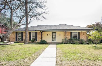 Garland Single Family Home Active Option Contract: 3810 Bachman Boulevard