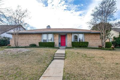 Richardson Single Family Home For Sale: 1713 Carolyn Way