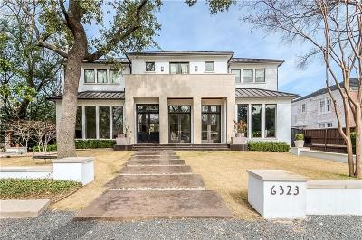 Dallas  Residential Lease For Lease: 6323 Meadow Road