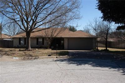 North Richland Hills Single Family Home Active Option Contract: 7808 Crestwood Court N