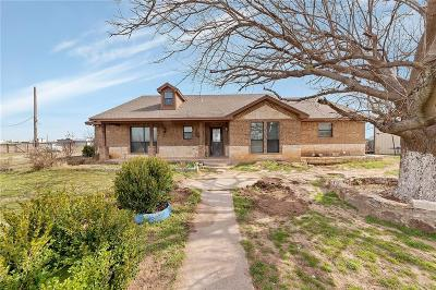 Archer County, Baylor County, Clay County, Jack County, Throckmorton County, Wichita County, Wise County Single Family Home For Sale: 157 County Road 1695