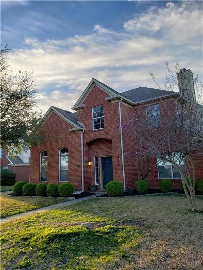 Plano Single Family Home Active Option Contract: 4704 Bear Run Drive