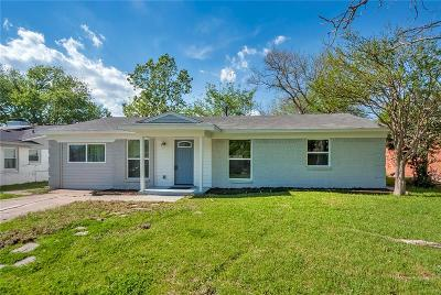 Mesquite Single Family Home For Sale: 2803 Cary Drive