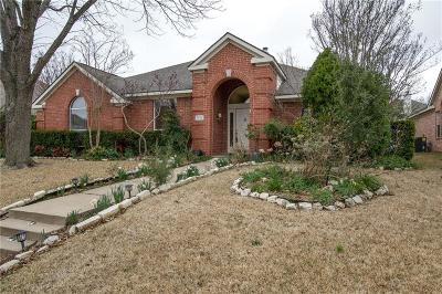 Plano Single Family Home Active Option Contract: 8805 Clear Sky Drive