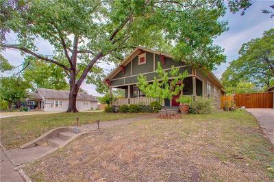 Dallas Single Family Home For Sale: 627 S Winnetka Avenue