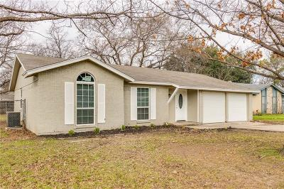 North Richland Hills Single Family Home Active Option Contract: 7320 Maple Drive