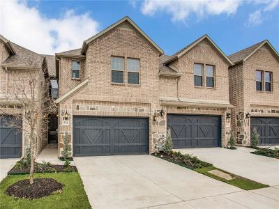 Plano Townhouse For Sale: 716 Reeves Lane
