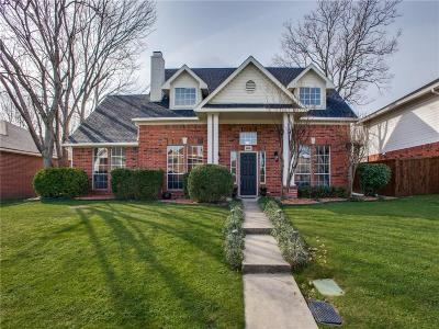 Lewisville Single Family Home Active Option Contract: 1318 Falcon Drive