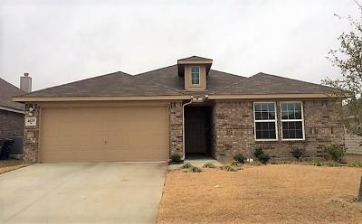 Forney Residential Lease For Lease: 4625 Elderberry Drive