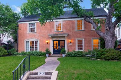 Dallas County Single Family Home For Sale: 4421 Belclaire Avenue