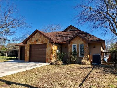 Weatherford Single Family Home Active Kick Out: 118 Marina View Court