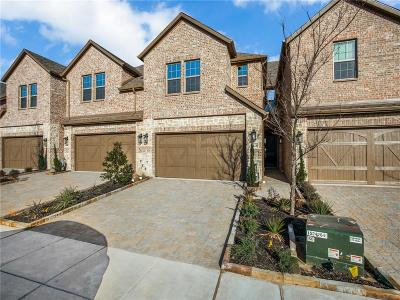 Plano Townhouse For Sale: 6428 Hermosa Drive