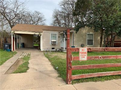 Fort Worth Single Family Home For Sale: 5171 Erath