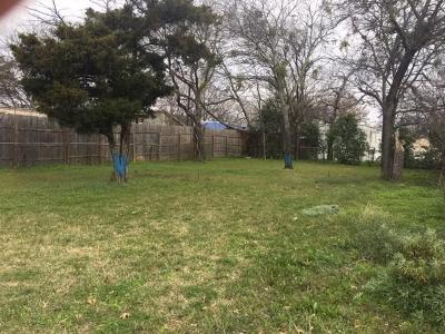 Denton County Residential Lots & Land Active Option Contract: 135 Birch Lane