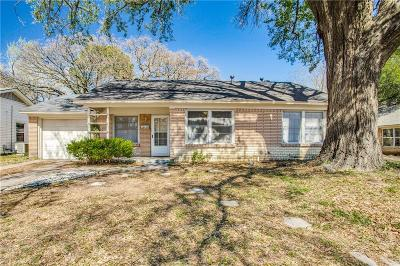 Arlington Single Family Home Active Option Contract: 1121 W Tucker Boulevard
