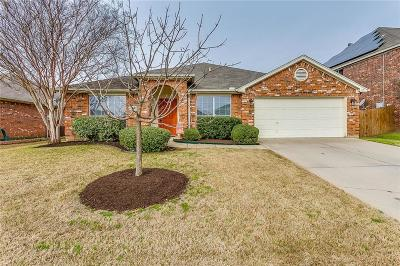 Burleson Single Family Home Active Option Contract: 813 Mesquite Drive