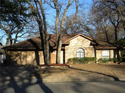 Azle Single Family Home Active Option Contract: 916 Rosebud Drive