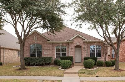 Carrollton Single Family Home Active Option Contract: 1810 Amber Lane