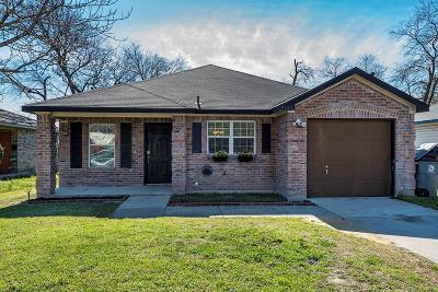 Dallas Single Family Home For Sale: 4526 Parry Avenue