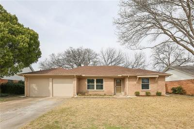 Farmers Branch Single Family Home Active Option Contract: 13359 Belfield Drive