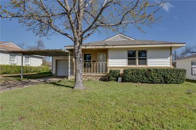Garland Single Family Home For Sale: 857 Crockett Street